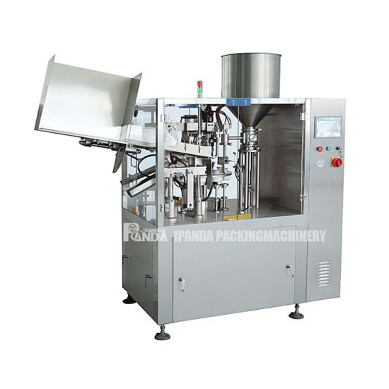 Automatic Skin Care Products Tube Filling Sealing Machine