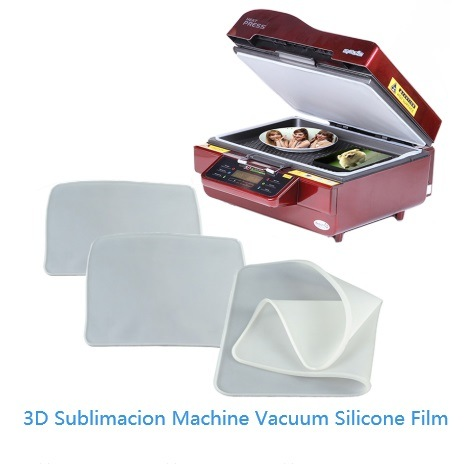 3D Sublimation Vacuum Heat Press Machine Custom Biscuit Plate Vacuum Bagging Film