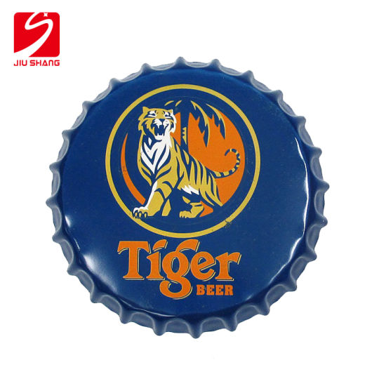 Beer Metal Wall Arts Wholesale Beer Cap Round Tin Sign Super Football Club Party Home Bar Pub Decorations
