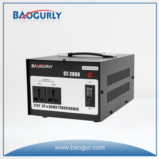 2000W Voltage Converter Step up and Step Down Transformer