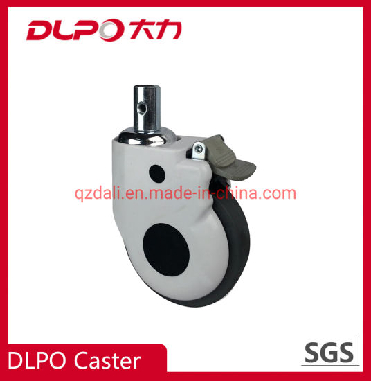 Medical Caster Adjustable TPR/PU Silent Wheel