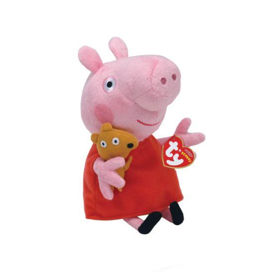 Ty Pink Pig Soft Stuffed Plush Cotton Ce Custom Toy