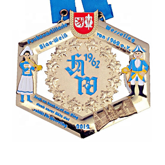 Custom Logo Metal Medal for Sports Event (YB-m-028) pictures & photos