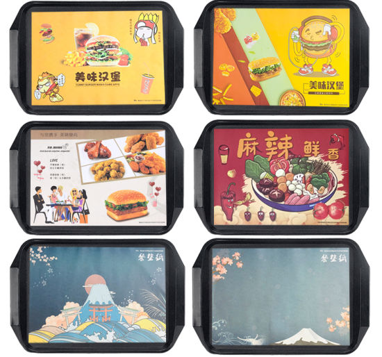 Customized Printed Greaseproof Paper Tray Food Bakery Table Paper Liner