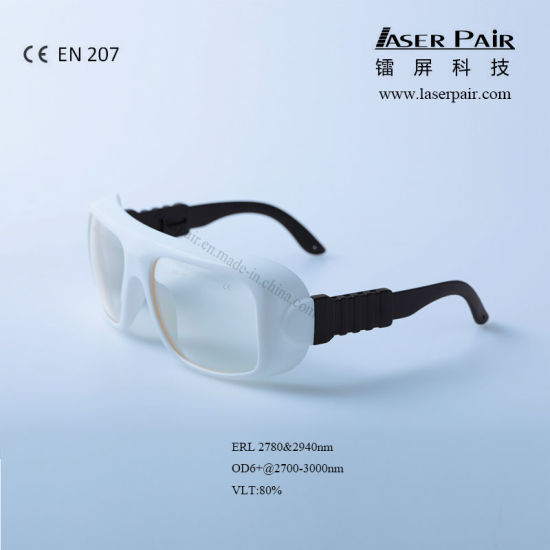 Laser Safety Glasses Erl High Optical Laser Protective Lens with Frame 36, O. D6+@2700-3000nm, Available for: 2780nm, 2940nm, Application: Er Lasers, Ce En207