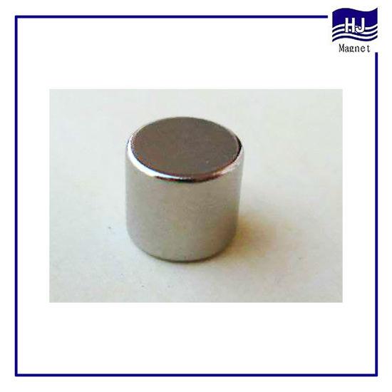 Strong Nickel Cylinder Neodymium Permanent Magnet