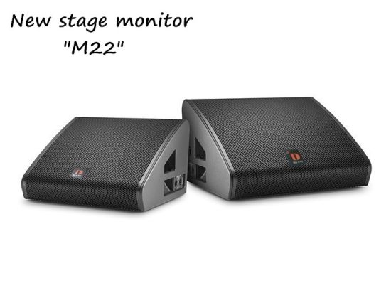 M22 Dual 12 Inch Professional Stage Monitor Speaker Vtx
