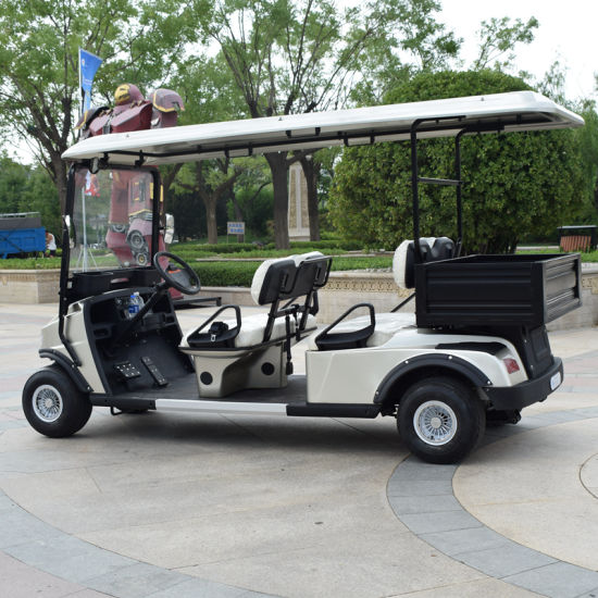 4 Seater Electric Golf Cart Trolley