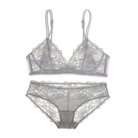 c3069c1a7326a2 China Ladies Sexy Underwear New Lace Bralette Bra Panti Set - China ...
