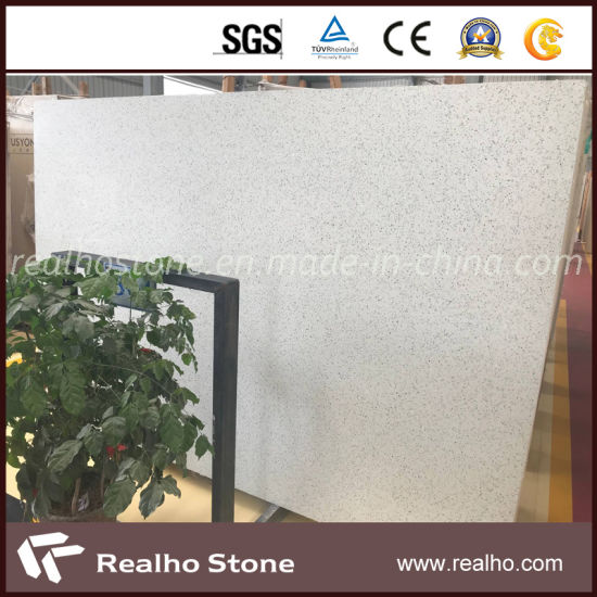 Cheap White Terrazzo Tile For Buliding Decoration Flooring Wall Vanity Tops Countertop