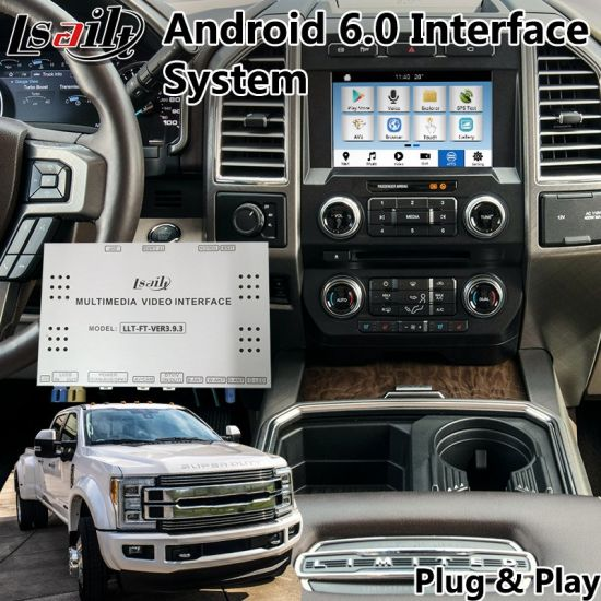 China Android Interface GPS Navigator for 2016-2018 Ford F-450 Sync