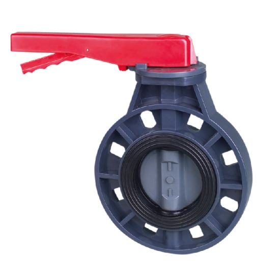 Hot Quality Made in China Era Handle Type Butterfly Valve Pn10 (F1970) , NSF-Pw & Upc