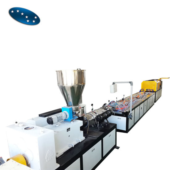 WPC Door Making Machine /WPC Decking Profile Production Line