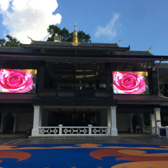 Water-Proof Full Color Pixel 6mm Outdoor LED Screen Display for Advertisements