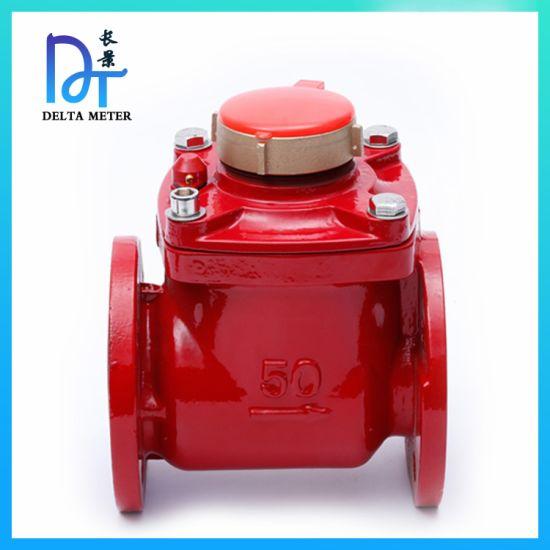 DN50 Hot Horizontal Woltman Portable Industrial Bulk Water Meter