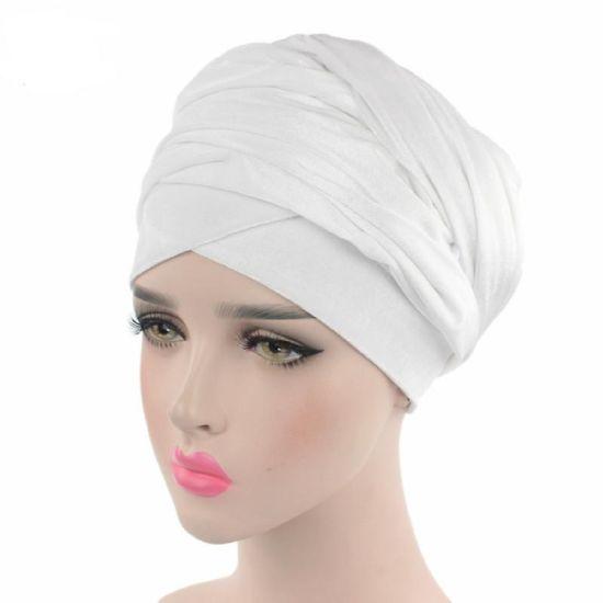 Latest Design Velvet Turban Cap