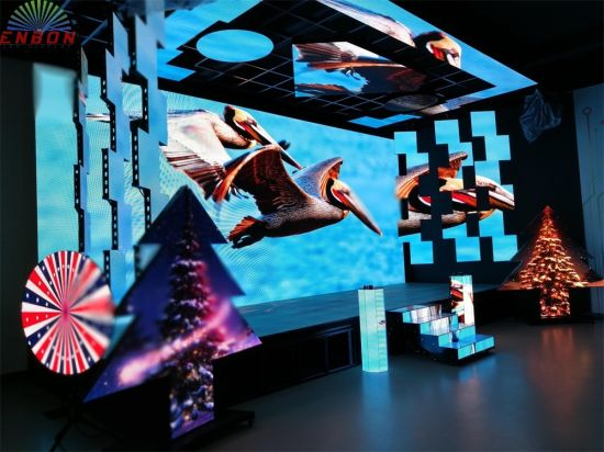 Economic P2.97 500X1000mm Indoor Portable LED Display Screen (P2.98)