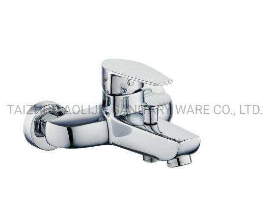 Good Shape Wall Mounted Bath Mixer Bathtub Shower Faucet