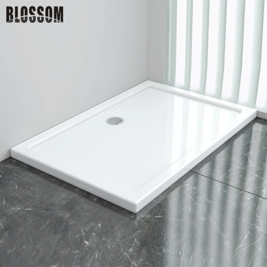 Rectangular Bathroom Shower Room Acrylic Base Shower Tray Manufacturer