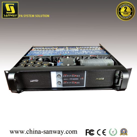 Sanway 2CH Power Amplifier, PRO Audio Fp13000 pictures & photos