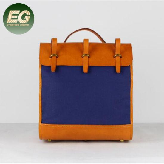 c6852a5269 China High Quality Custom Fashion Canvas Backpack Bag Emg5394 ...