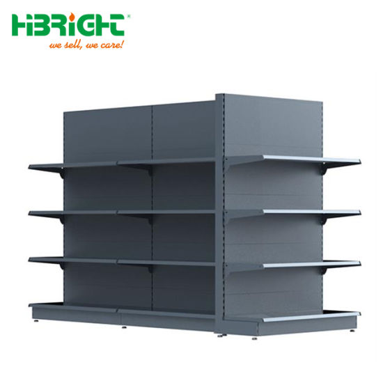 Wholesale Supermarket Hypermarket Metal Display Store Gondola Shelf pictures & photos