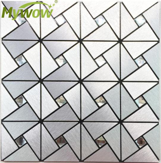Modern Decorative Interior Kitchen Tile Wall Glass Mosaic
