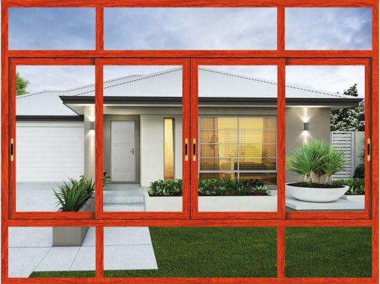 1.2-2.0 Aluminum Thickness/Aluminum Sliding Windows Residential for House