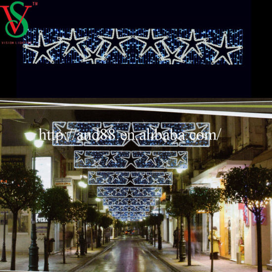 Outdoor Christmas Light LED Street Decoration Motif Light