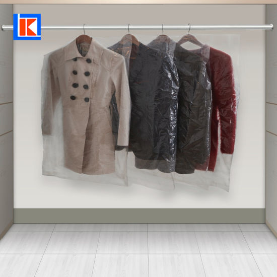 Factory OEM High Quality Clean Plastic Garment Bag