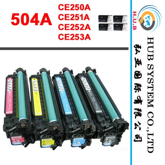 Genuine Toner Cartridge/Printer Part HP Ce250A (504A) /HP Ce260A (647A)