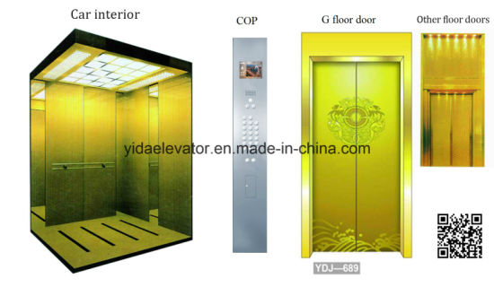 Luxury Passenger Elevator with Otis Quality From Manufacturer