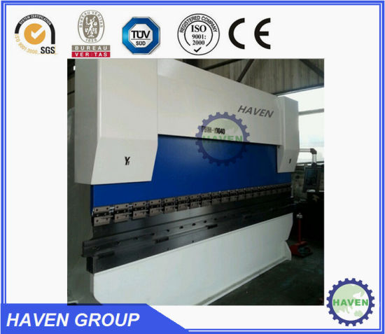 WC67Y-250X4000 E21 Hydraulic PressBrake Hydraulic Steel Plate Bending Machine pictures & photos