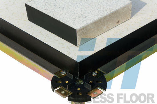 HPL/PVC/Ceramic Antistatic Raised Access Floor (High Strength Calcium Sulphate false flooring)