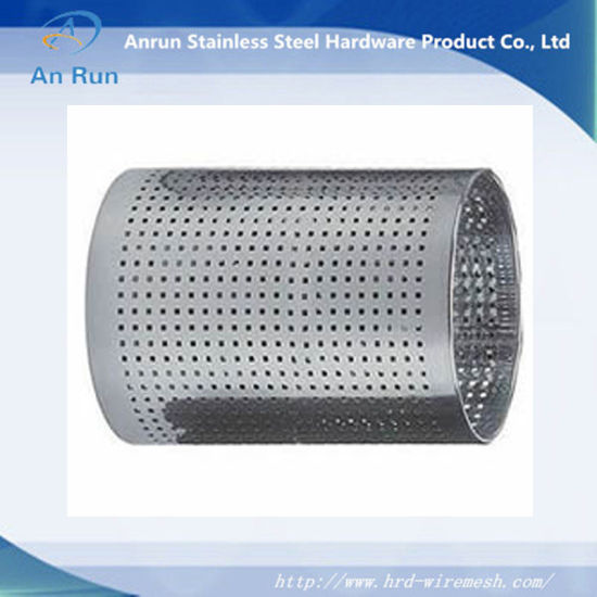 Perforated Metal Tube Passed ISO pictures & photos