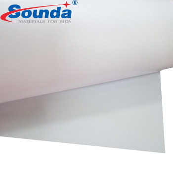 Advertising Printing Material PVC Flex Banner Roll Coated Blockout for Printing