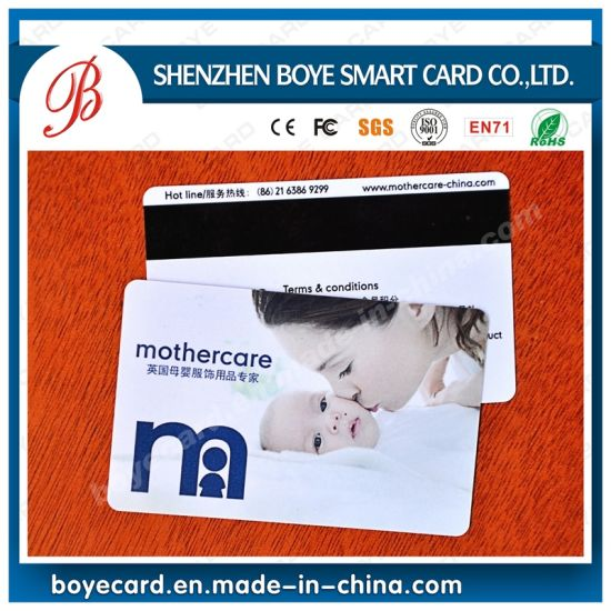 Popular PVC 2750oe Hico Magnetic Card pictures & photos