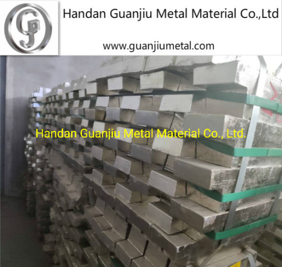 Pure Metal Tin Ingots From China Sn 99.99% pictures & photos
