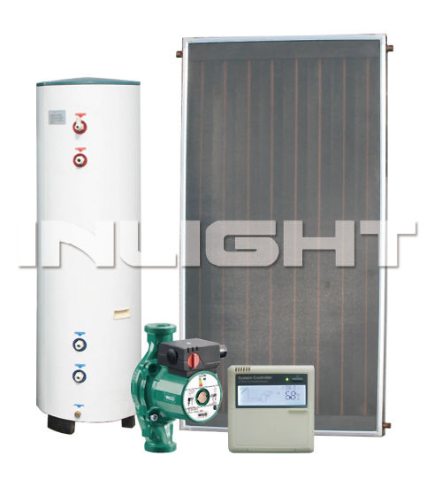 Split Flat Panel Solar Energy Water Heater Copper Heat Exchange (INL-J7)