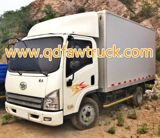 3-5 Tons FAW lorry truck, box truck pictures & photos