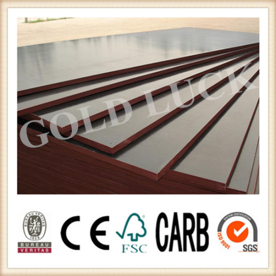 Waterproof Brown Film Faced Plywood for Construction pictures & photos