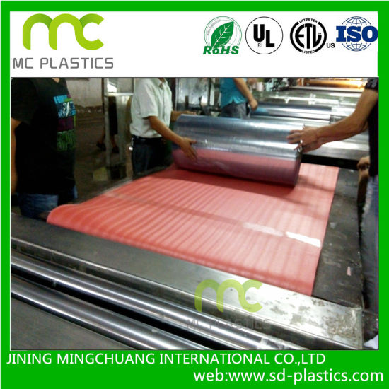 PVC Transparent Film for Packaging/Back Materials pictures & photos