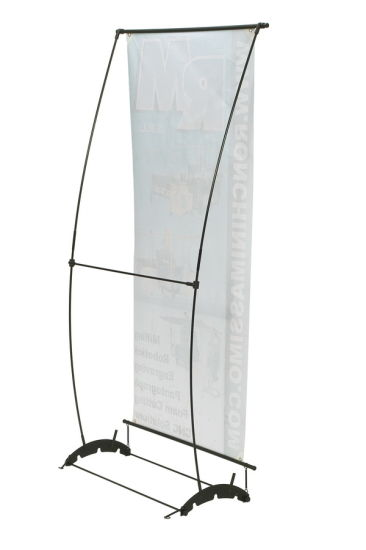 Portable Single Banner Stand Advertising pictures & photos