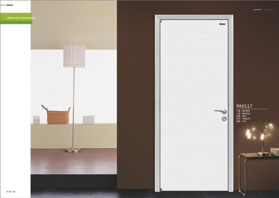 interior office door. Italian Wood Door Design, Interior Office Door, Simple White Design