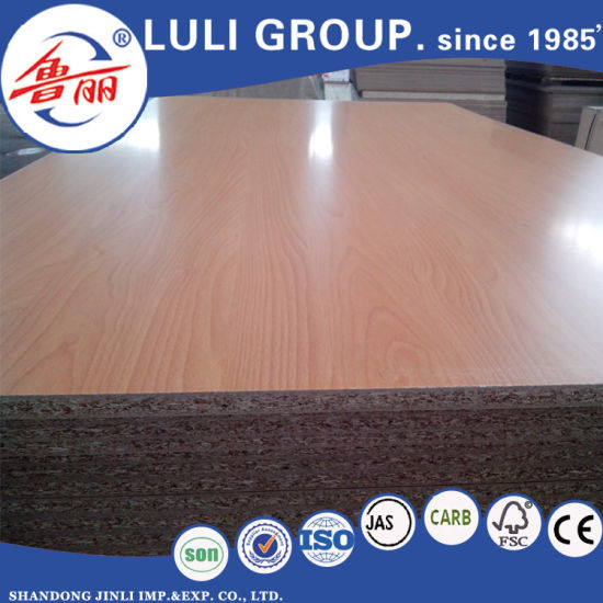 Melamine Faced Waterproof Particle Board for Cabinet