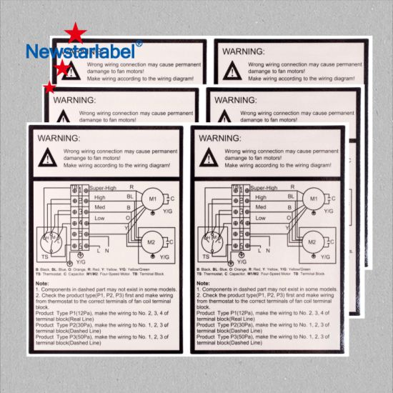China A4 Laser Printing and Barcode Label Stickers in Sheet