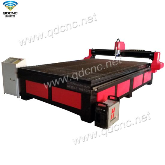 High Precision CNC Plasma Cutting Machine with Auto Lubrication System Qd-2030 pictures & photos