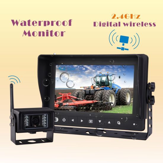 Digital Wireless Waterproof Car Video for Farm Tractor, Combine, Cultivator, Plough, Trailer, Truck pictures & photos