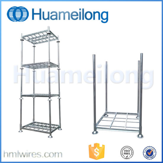 Hot DIP Gavanized Movable Metal Stacking Rack pictures & photos