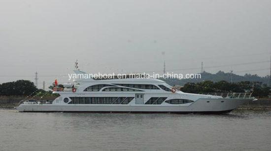 China 250 Passenger Capacity 39m Fiberglass Hull Material